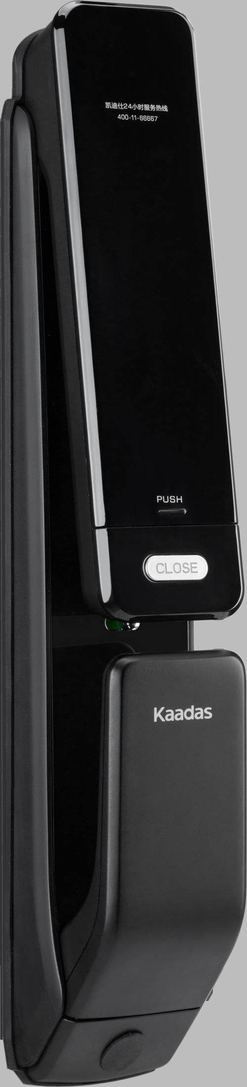Kaadas KXT - замок электронный биометрический на входную дверь. Вид внутри.