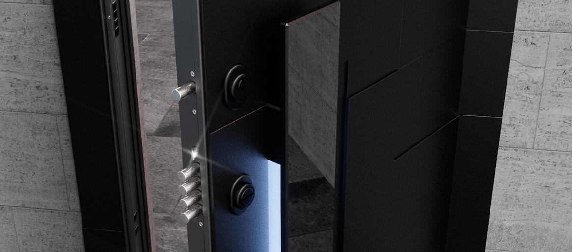 Новая система электронного открывания Invisible touch следующего поколения.