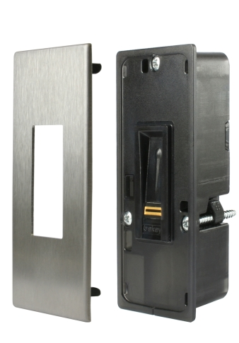 Двери с отпечатком пальца E-Key