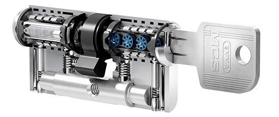 EVVA MCS цилиндровый механизм